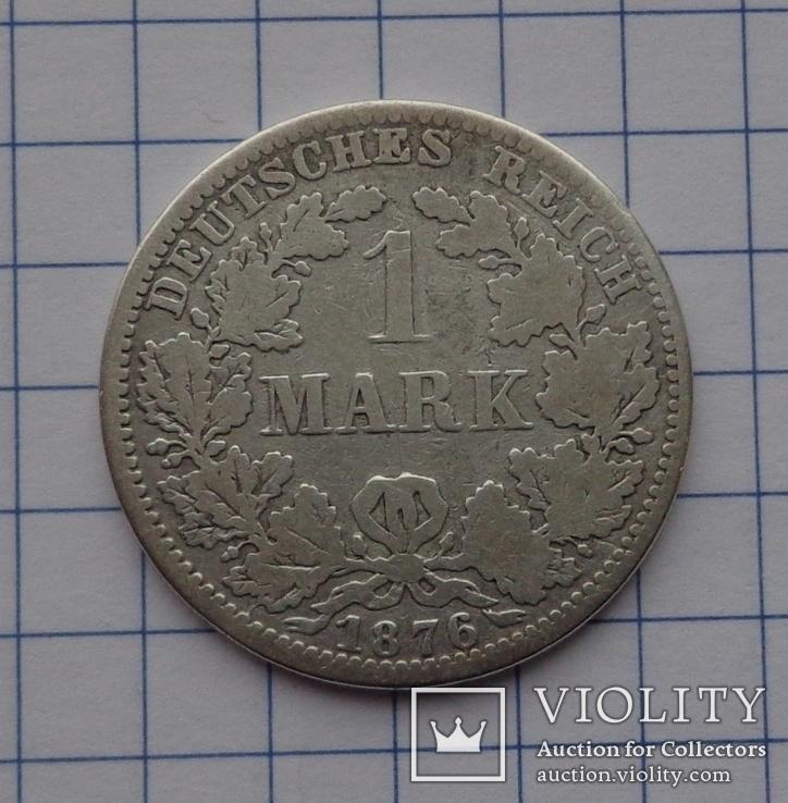 1 марка 1876 г.  А, фото №3