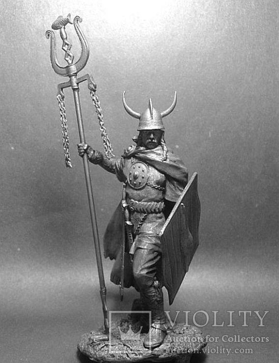 Кельтский вождь, 4 век до н.э. 75мм., фото №2