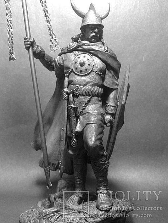 Кельтский вождь, 4 век до н.э. 75мм., фото №3