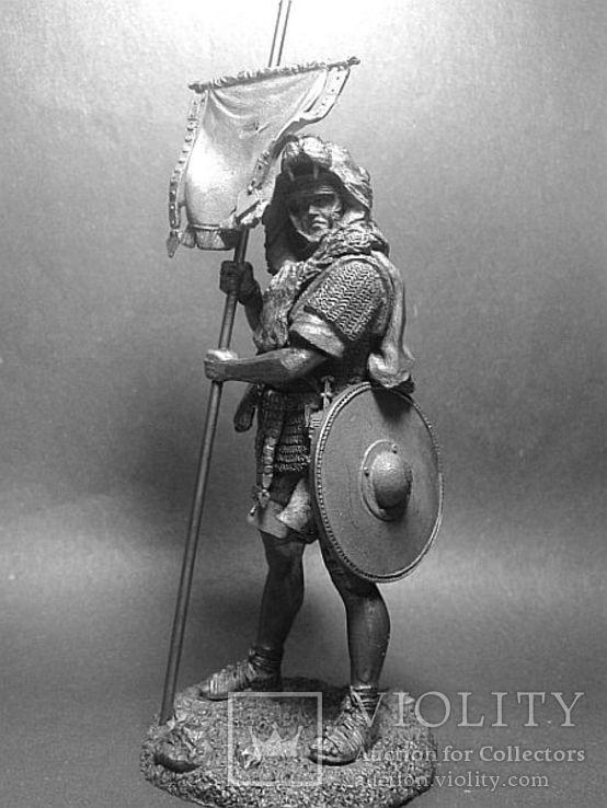 Рим.Вексиларий Legio XII Fulminata.1век.н.э.75мм, фото №2