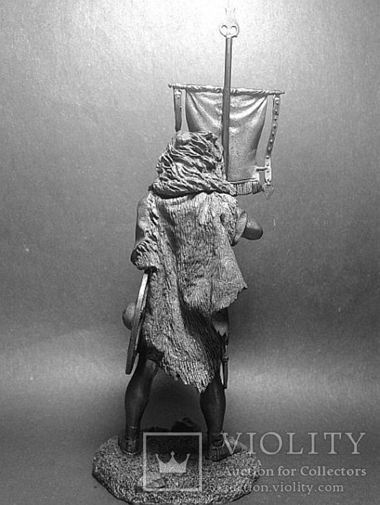 Рим.Вексиларий Legio XII Fulminata.1век.н.э.75мм, фото №3