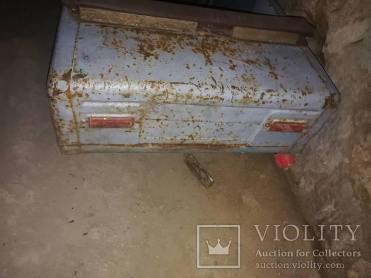 Старая педальная машинка, фото №6