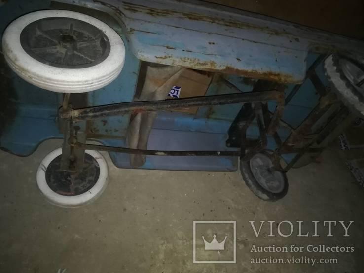 Старая педальная машинка, фото №12