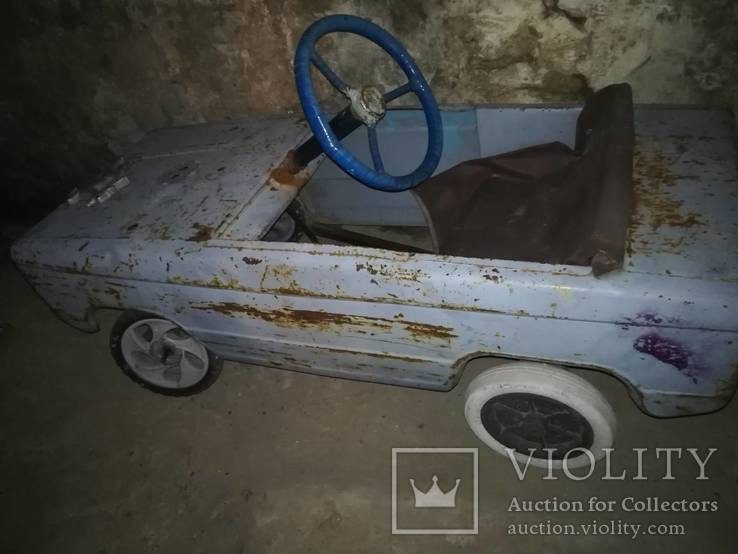 Старая педальная машинка, фото №13