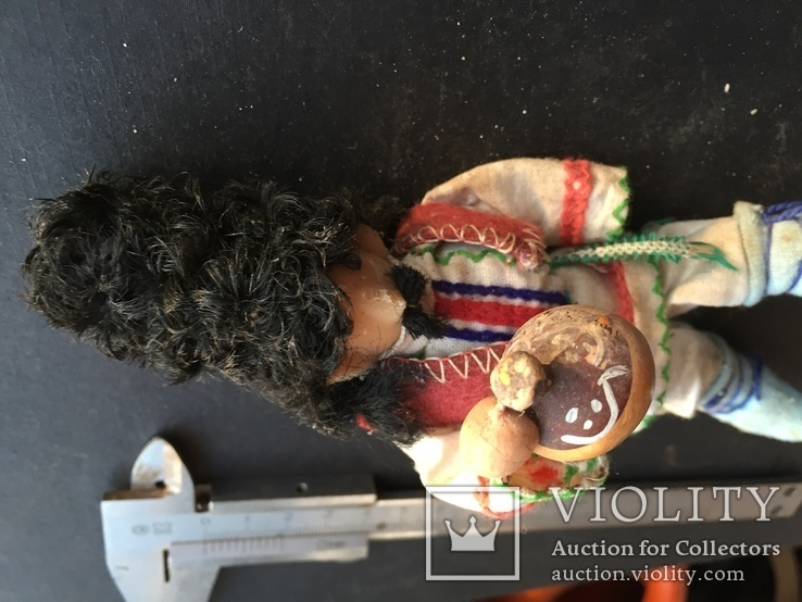 Проволочна лялька в національному вбранні, фото №7