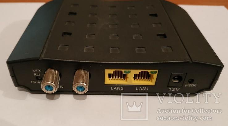 Модем для к Internet по коаксиальному ТВ кабелю, фото №2