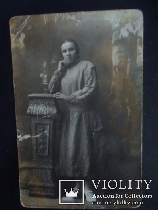Девушка,CARTE POSTALE- foto BAYER, фото №4