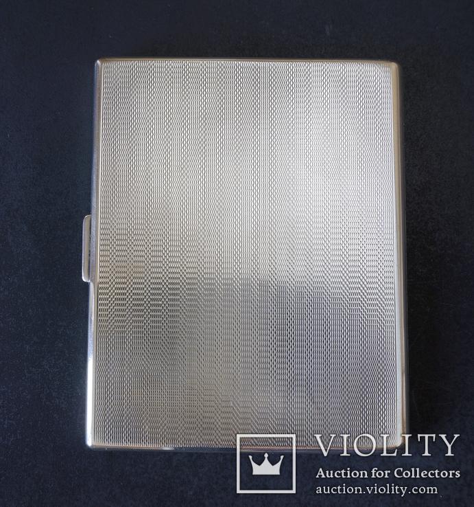 Портсигар 1921 год. Серебро 925. 160 грамм, фото №3