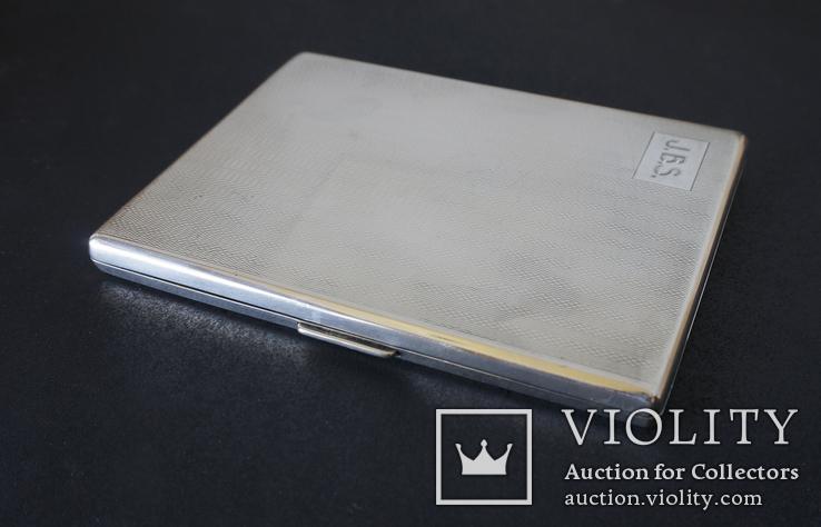 Портсигар 1921 год. Серебро 925. 160 грамм, фото №5