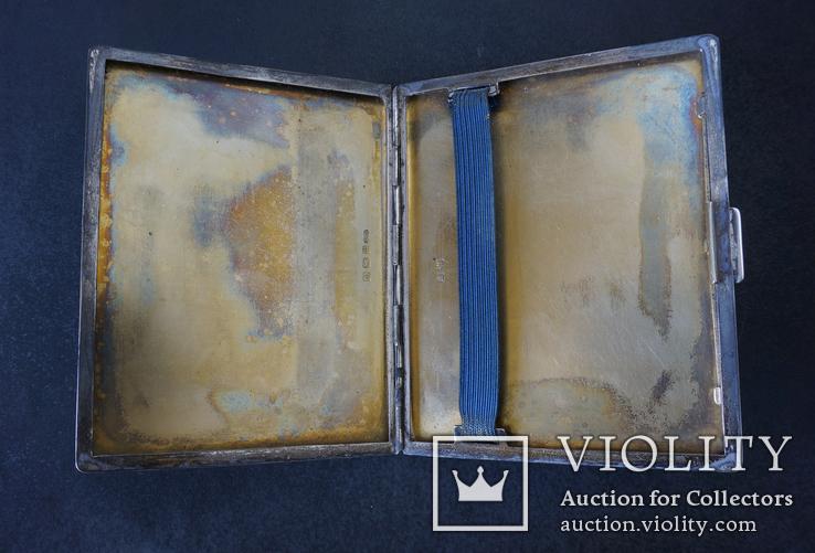 Портсигар 1921 год. Серебро 925. 160 грамм, фото №7