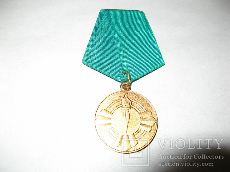 Медаль 10 лет Саурской Революции Афганистан, фото №4