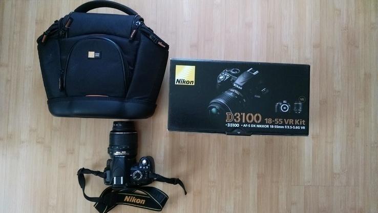 Фотоаппарат Nikon d3100 + сумка