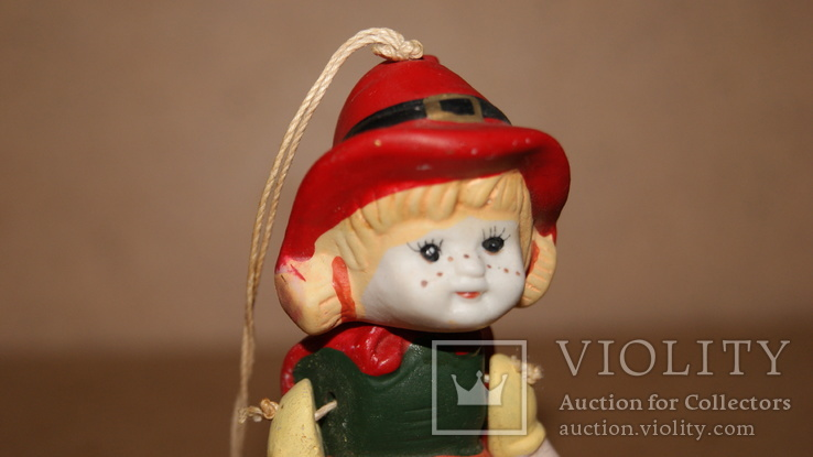 Красная Шапочка, керамика, подвижная, марионетка, фото №6