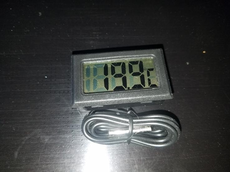 Электронный цифровой термометр с выносным датчиком