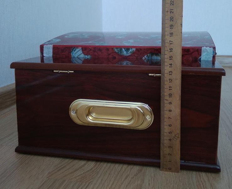 Набор столовых приборов в кейсе, сундуке ZPTR 72 шт., фото №12