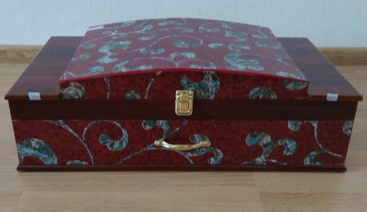Набор столовых приборов в кейсе, сундуке ZPTR 72 шт., фото №13