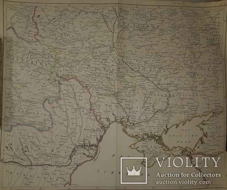 1780-е карта территории Украины