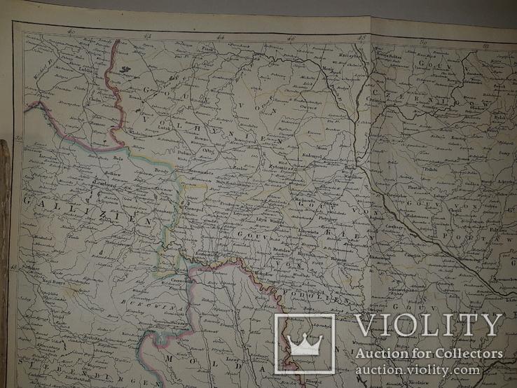 1780-е карта территории Украины, фото №4