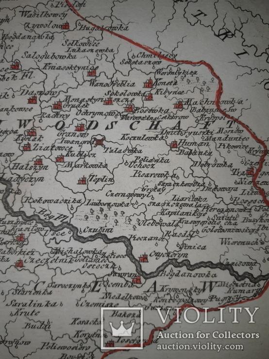 Карта Подолье 18 века, фото №8