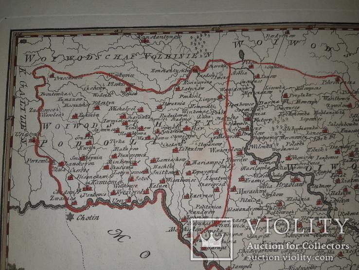 Карта Подолье 18 века, фото №9