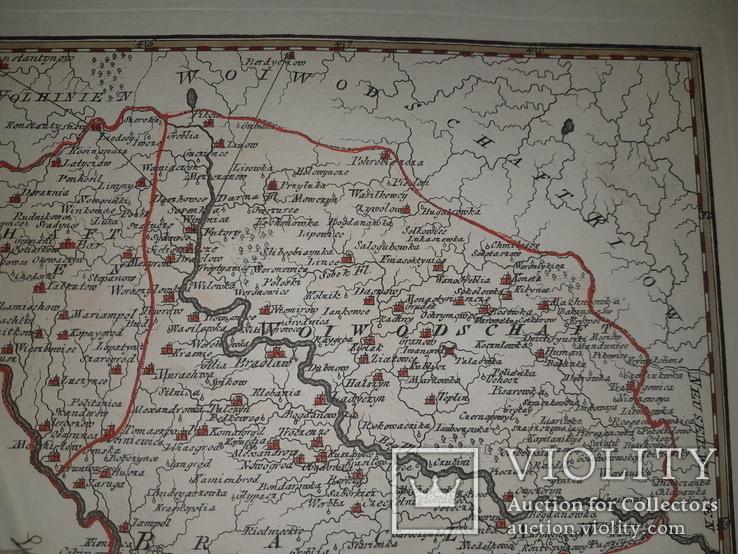 Карта Подолье 18 века, фото №10