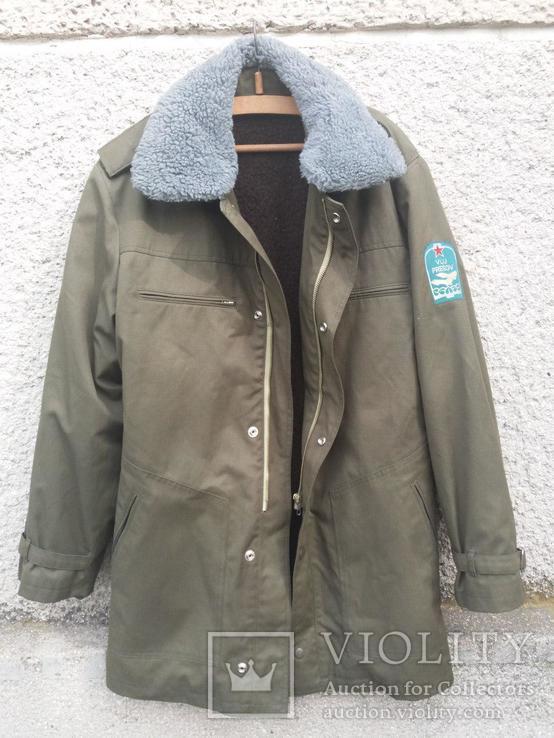 Куртка армейская утепленная, фото №6