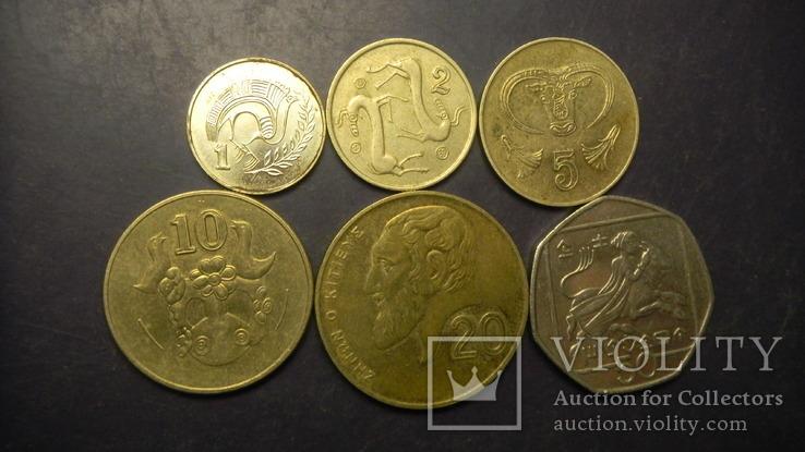 Кіпр (до євро) повний комплект, фото №2