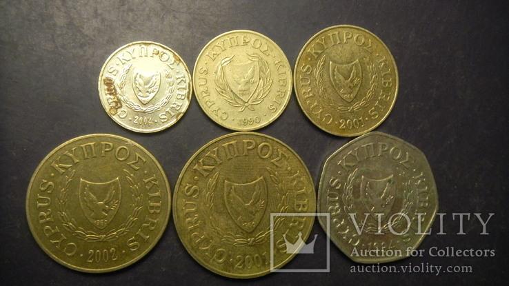 Кіпр (до євро) повний комплект, фото №3