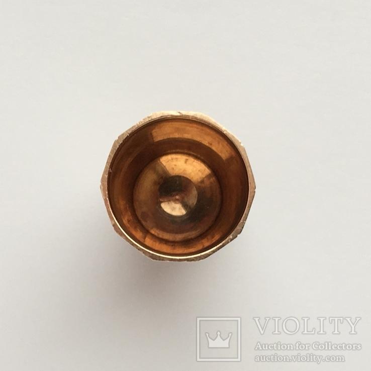 Старинный золотой наперсток, фото №7