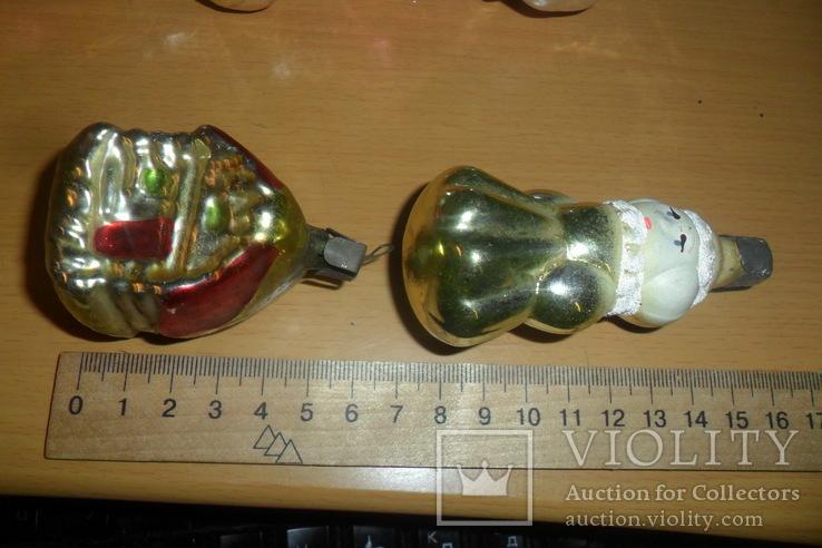 Ёлочная игрушка 7 шт в лоте домик собака девочка человек, фото №3