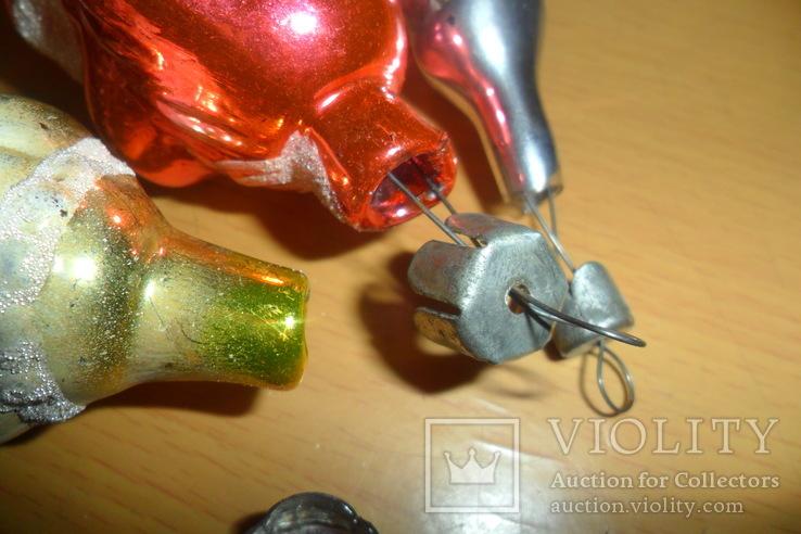 Ёлочная игрушка 7 шт в лоте домик собака девочка человек, фото №13