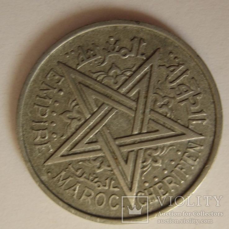 Марокко 1 франк 1370  (1951 года.), фото №5