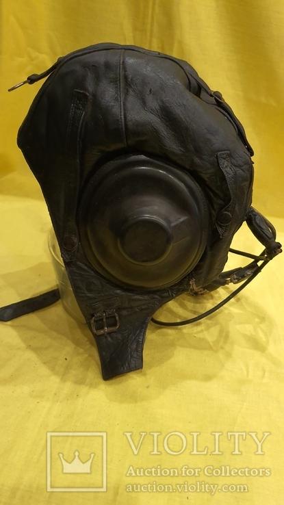 Шлем летчика старого образца, фото №3