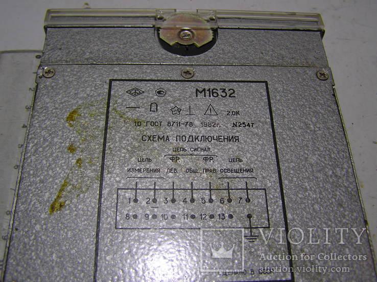 Микроамперметр М1632., фото №3