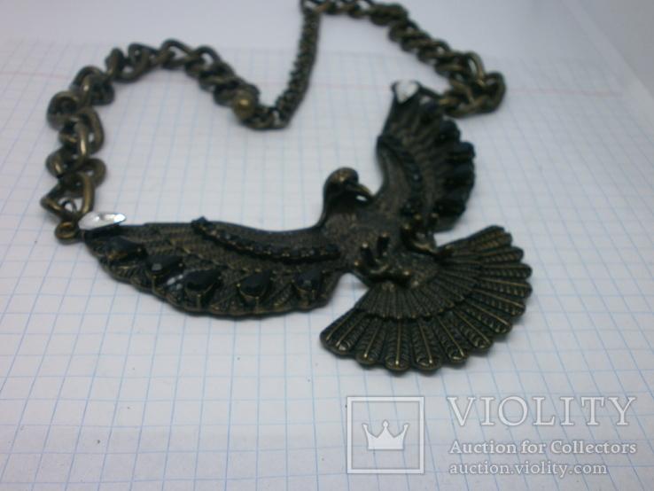 Колье. Орел с расправленными крыльями и когтями., фото №3