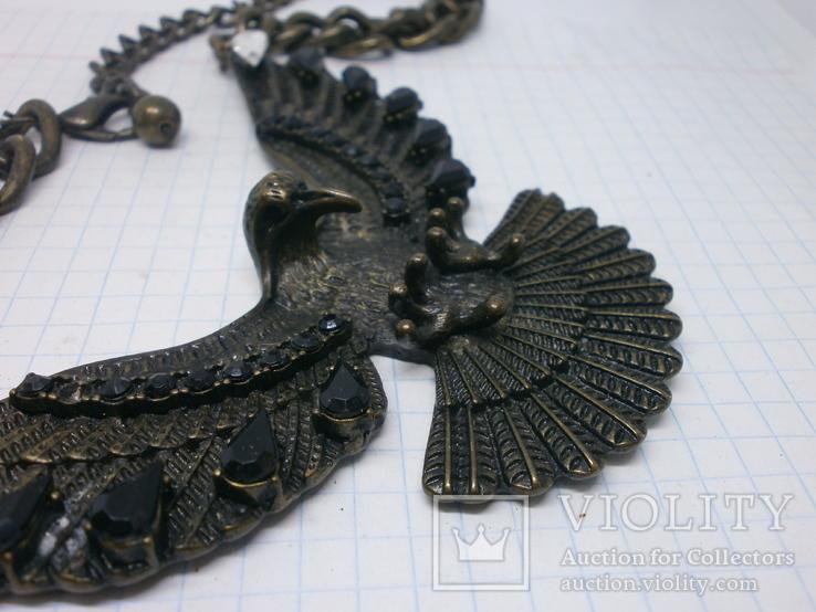 Колье. Орел с расправленными крыльями и когтями., фото №5