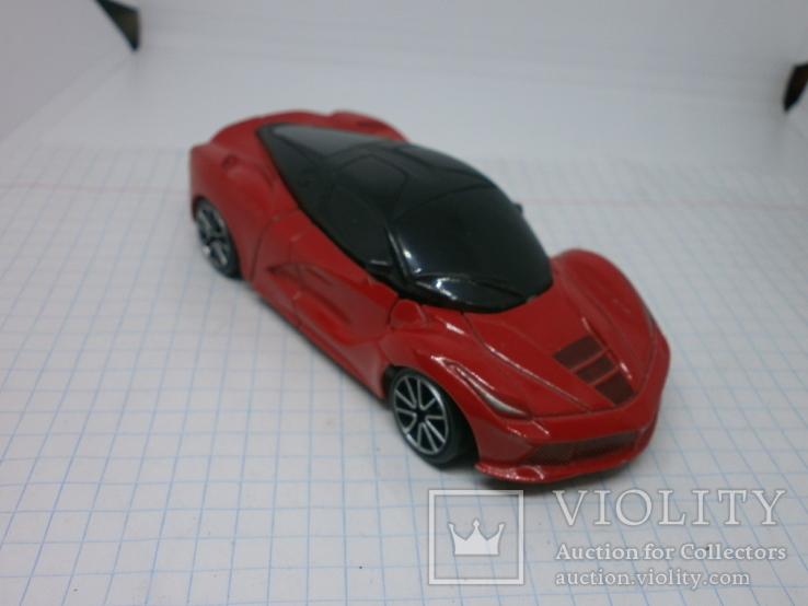 Металлический автомобиль-трансформер, фото №3