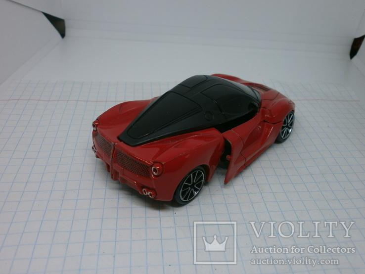 Металлический автомобиль-трансформер, фото №4