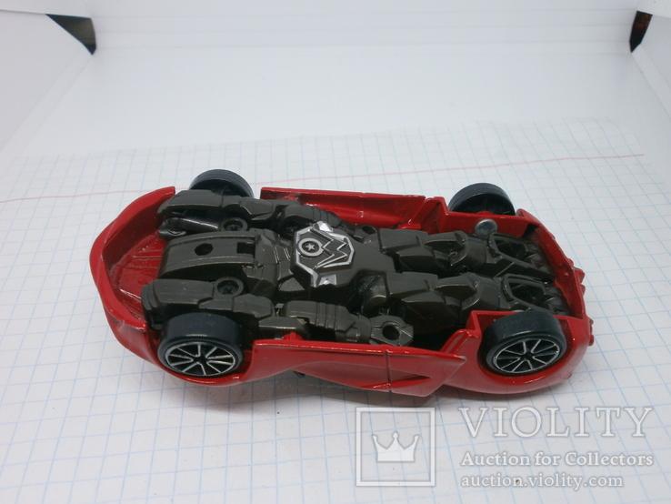 Металлический автомобиль-трансформер, фото №6