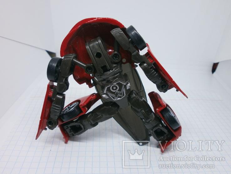 Металлический автомобиль-трансформер, фото №7
