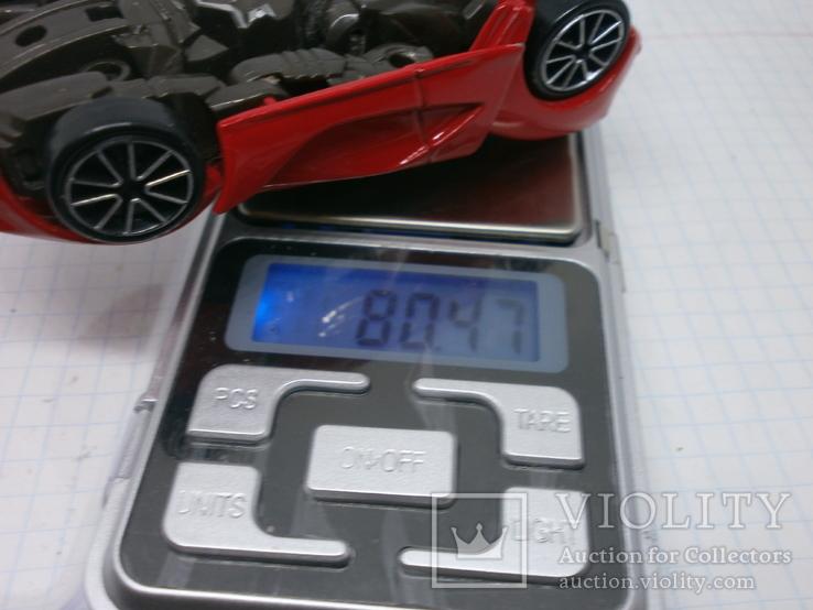 Металлический автомобиль-трансформер, фото №9