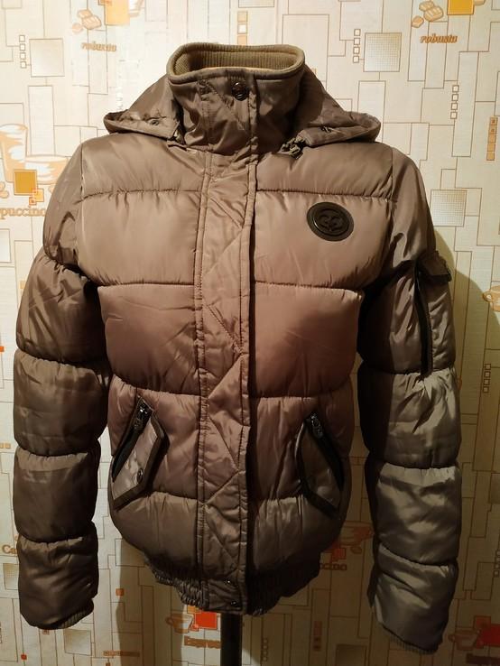 Куртка теплая. Бомбер COOL CAT на рост 170-176