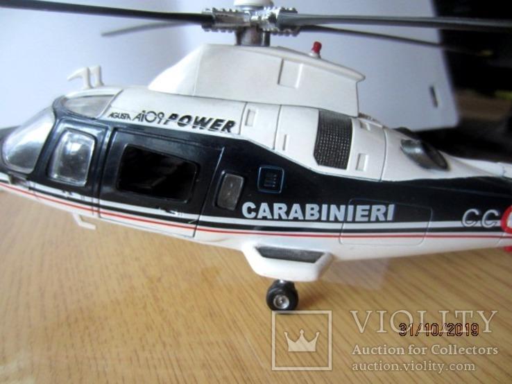 Вертолет Augusta A-109 Carbinieri полиция Италии, фото №5