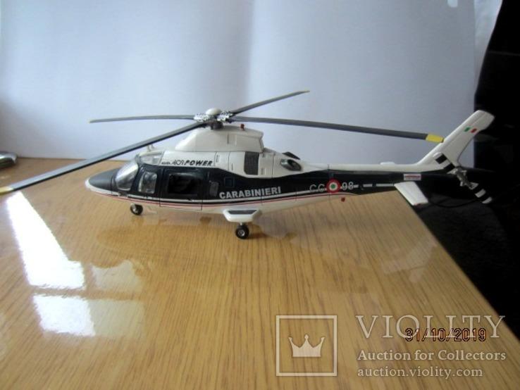 Вертолет Augusta A-109 Carbinieri полиция Италии, фото №2