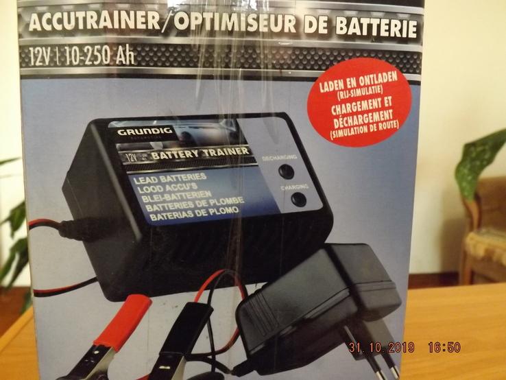 Автоматическое зарядное устройство GRUNDIG, 12v 10-250 Ah, фото №4