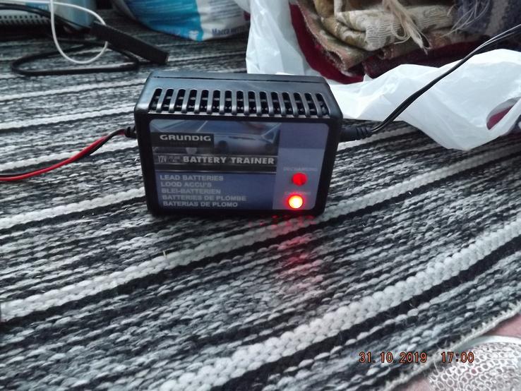 Автоматическое зарядное устройство GRUNDIG, 12v 10-250 Ah, фото №7