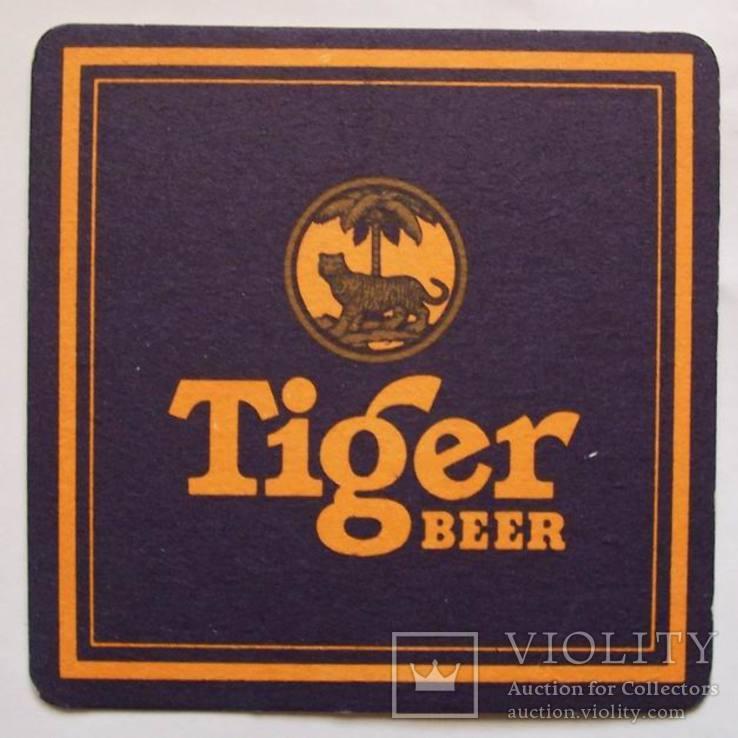 Бирдекель Tiger beer.