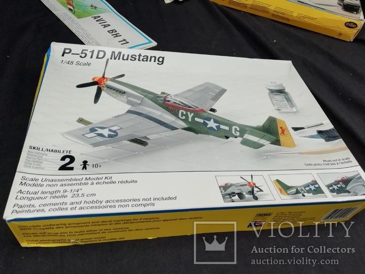 Testors P-51D Mustang 1:48