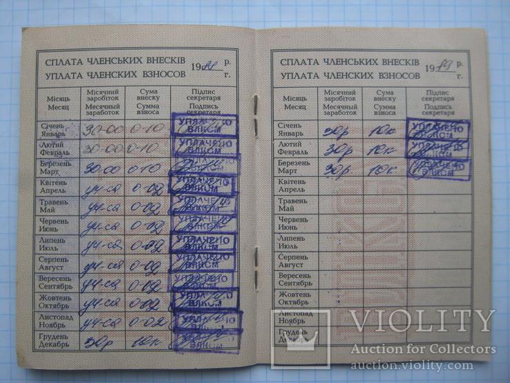 Комсомольский Билет + Памятка Члену ВЛКСМ., фото №6