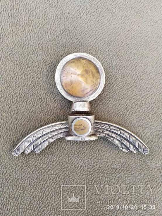 Эфес на меч Люфтваффе..оригинал в мельхиоре., фото №2